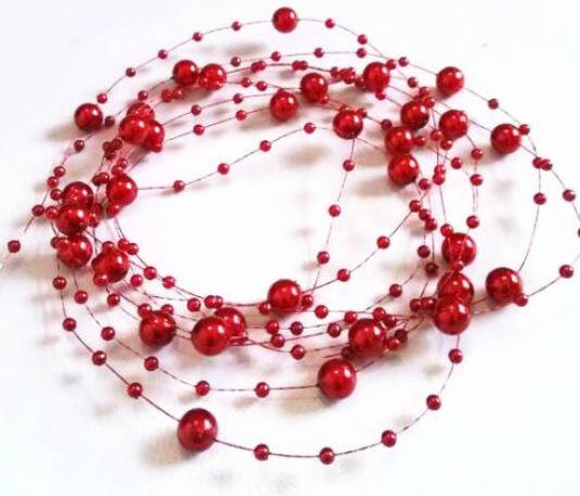 fil perle bordeaux