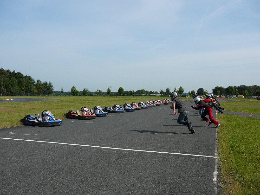Du karting à USSEAU aux beaux jours !