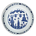 Ming dynasty blue and white porcelains sold at sotheby's new york, 22 june 2021