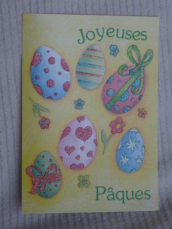 2013-03-19 - carte échange Pâques (Anamarivia)