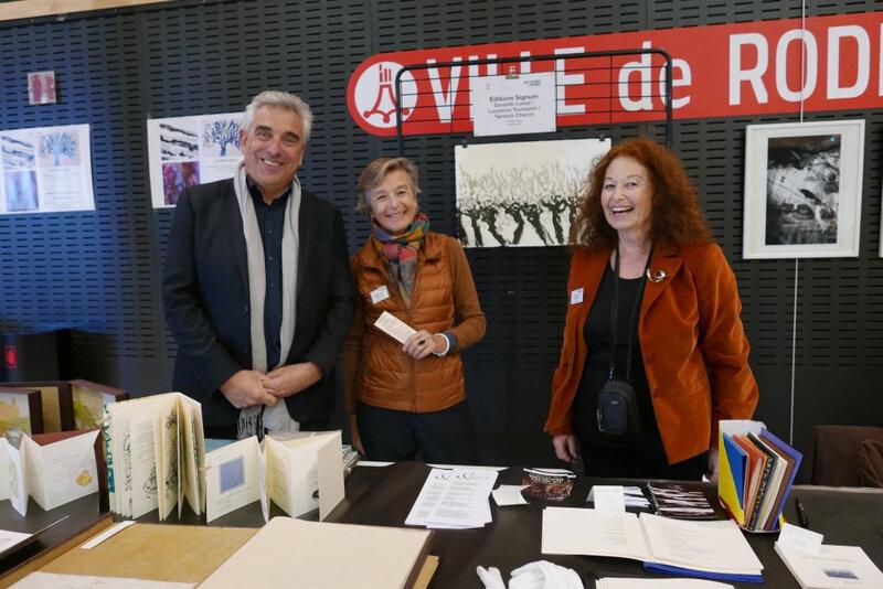 avec Bernard Cayzac, président des Amis du musée SoulagesR