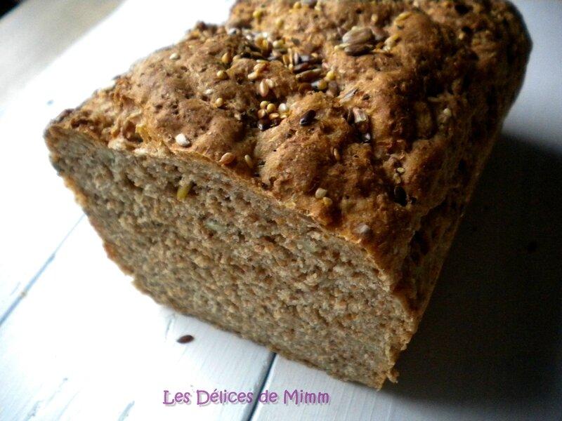 Le meilleur pain intégral (à IG bas) 4