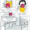 Le mystère de la tasse rose...