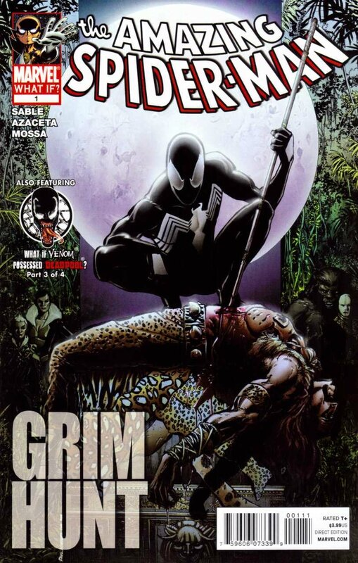 what if amazing spiderman grim hunt