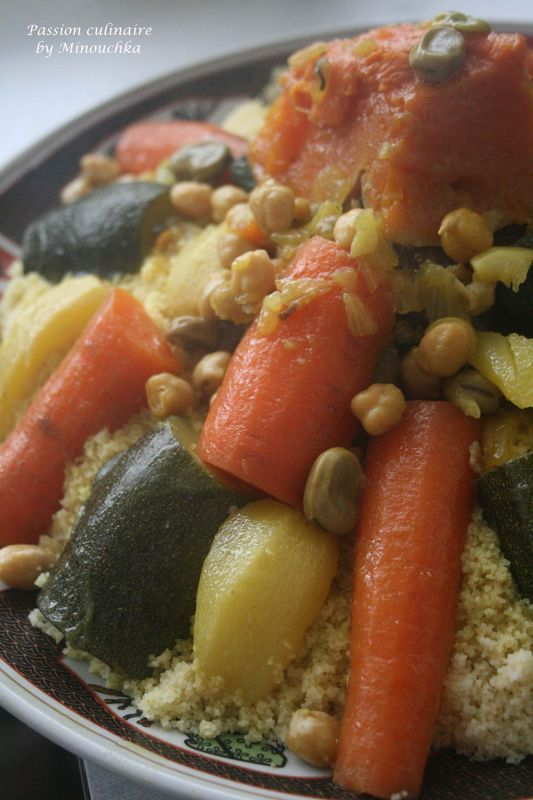 Couscous A La Marocaine Par Etapes Et Quelques Astuces Passion