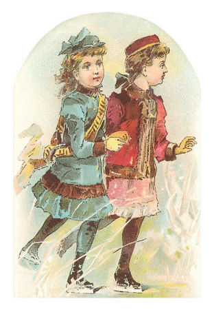 TC_00004_C_Two_Victorian_Girls_Skating_Posters