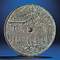 A rare bronze 'Celestial' mirror, Song dynasty (960-1279)
