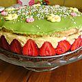 Le fraisier du chef pâtissier jérémy chauvel (de la maison hédiard)