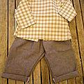 ensemble tunique et jeans