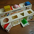 Shape sorter de fisher price