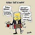 Ayrault, la cohésiongouvernementale, les ministres et le manche