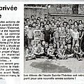 Article vosges matin du 2 septembre