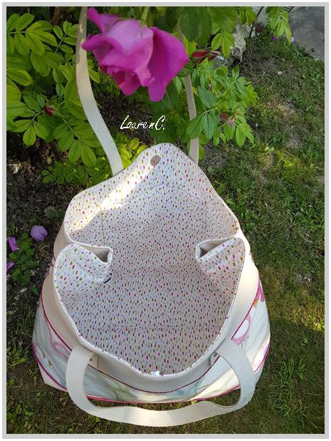SAC FLAMANTS JOCELYNE 2018 INTERIEUR