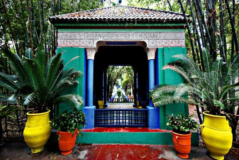 Le Jardin Majorelle Maroc Jardins D Ailleurs