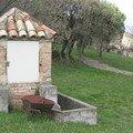 Hameau de Valz : comune de Saint-Christol les Alès