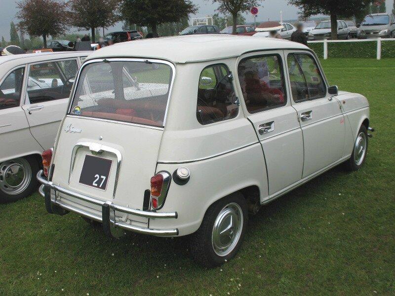 Renault 4 Super (1962-1963) - Autos-Croisées