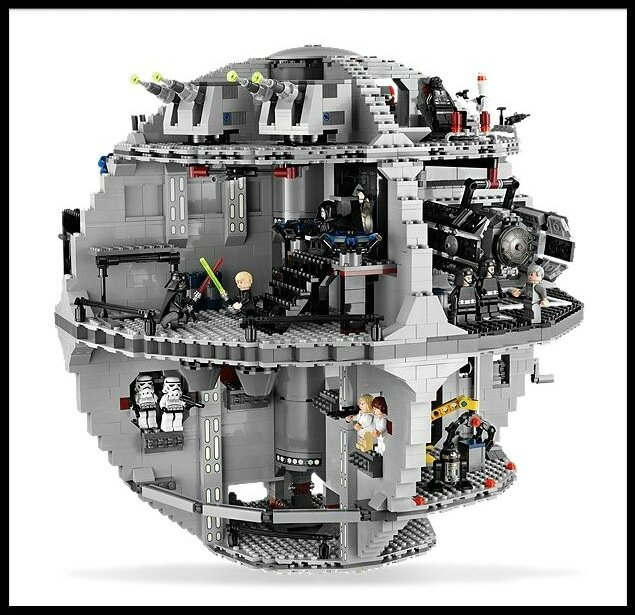 lego star wars death star 3