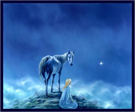 Le cheval du chaman