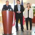 Accueil du président de la Région d'Usti (Tchéquie)