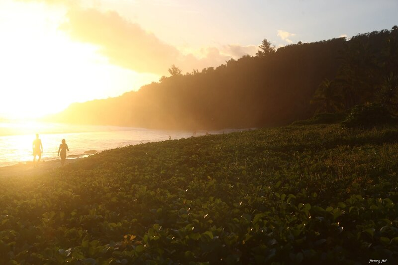 sunset grande anse