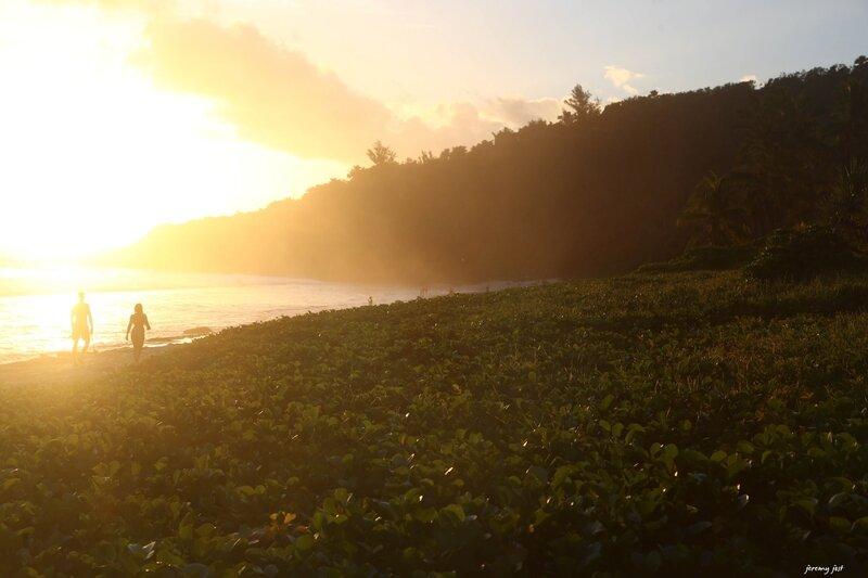 sunset grande anse