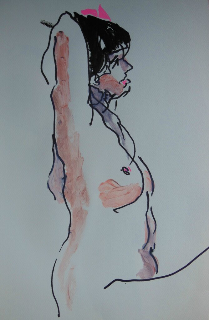 tableaux de nus artistique peinture dessin 25