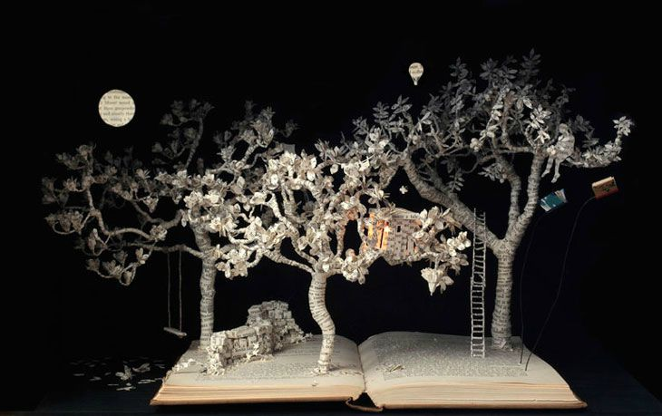 Su Blackwell- The baron_in_the_trees