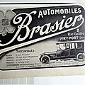 Brasier automobile publicite ancienne au 5