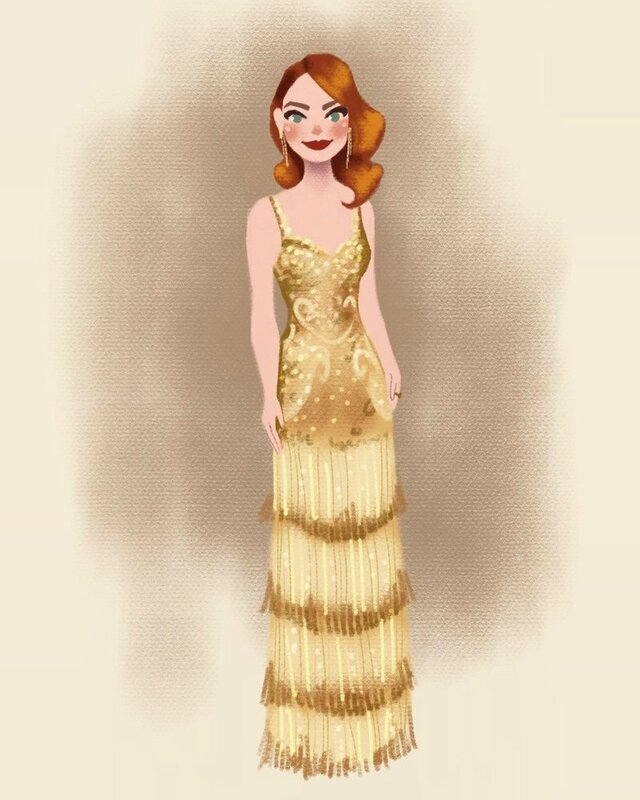 emma_stone_at_oscars_2017_by_dylanbonner-db0j744