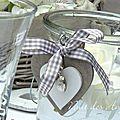 Nuit des anges décoratrice de mariage décoration de table lin 020