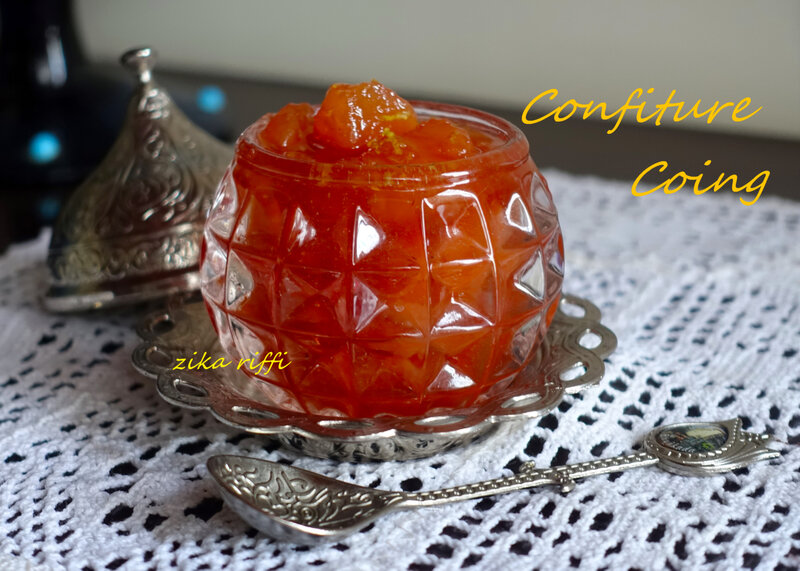 confiture coing 1