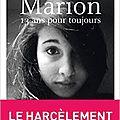 Marion 13 ans pour toujours de nora fraisse