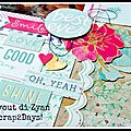 Sneak peek layout -> scrap2days