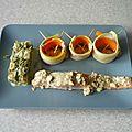 Saumon vapeur, ses légumes et sa sauce moutardé.