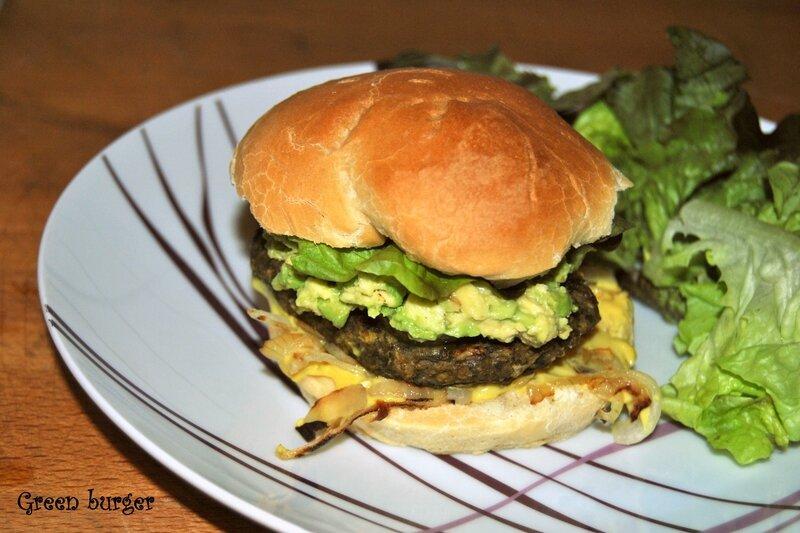Green burger 2