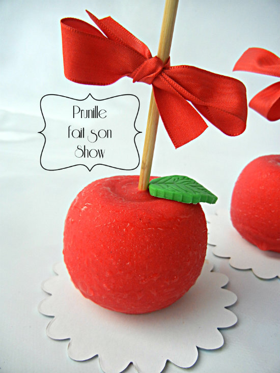 entremet pomme d'amour cedric grolet prunillefee