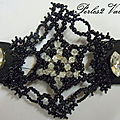 Bracelet dentelle de perle