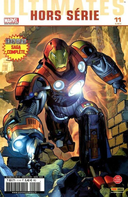 ultimates hs 11 iron man la guerre des armures