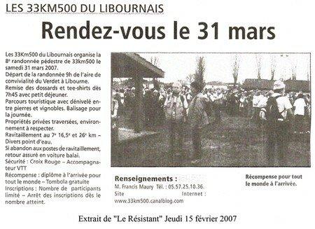 Le Résistant 15022007