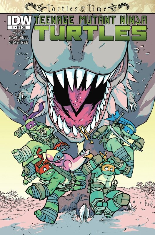 IDW TMNT turtles in time 01