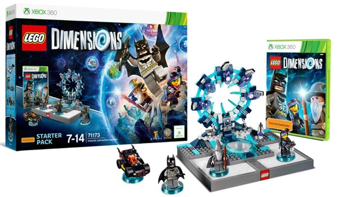 lego dimension demarrage