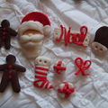 BOUTONS FIMO NOEL