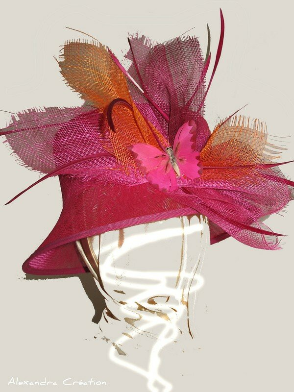 Sisal Rose Fuchsia
