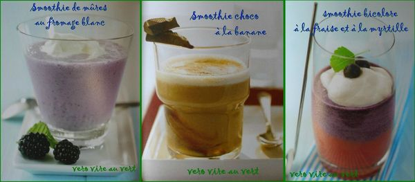 smoothies gouter