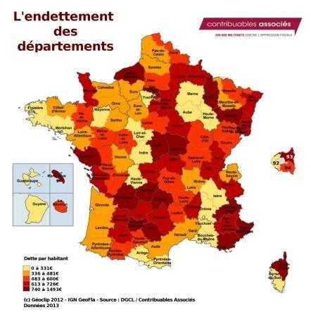departements endette de france_n