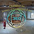 Chambre et baptême de jeanne d'arc (église saint-rémy de domrémy)