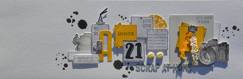 QDNAP- janvier 21 - claire scrap at home