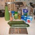 Ma première recette : le tian de courgettes