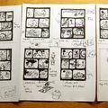 Making of quadrichrovie: partie 2- le découpage graphique