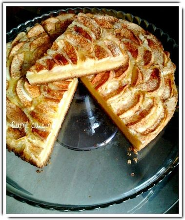 gâteau facile aux pommes oumi